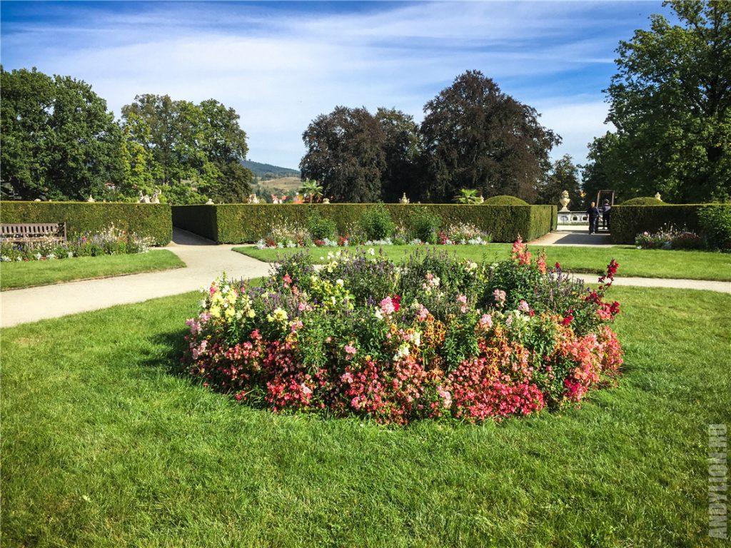 Замковый сад Чески-Крумлов