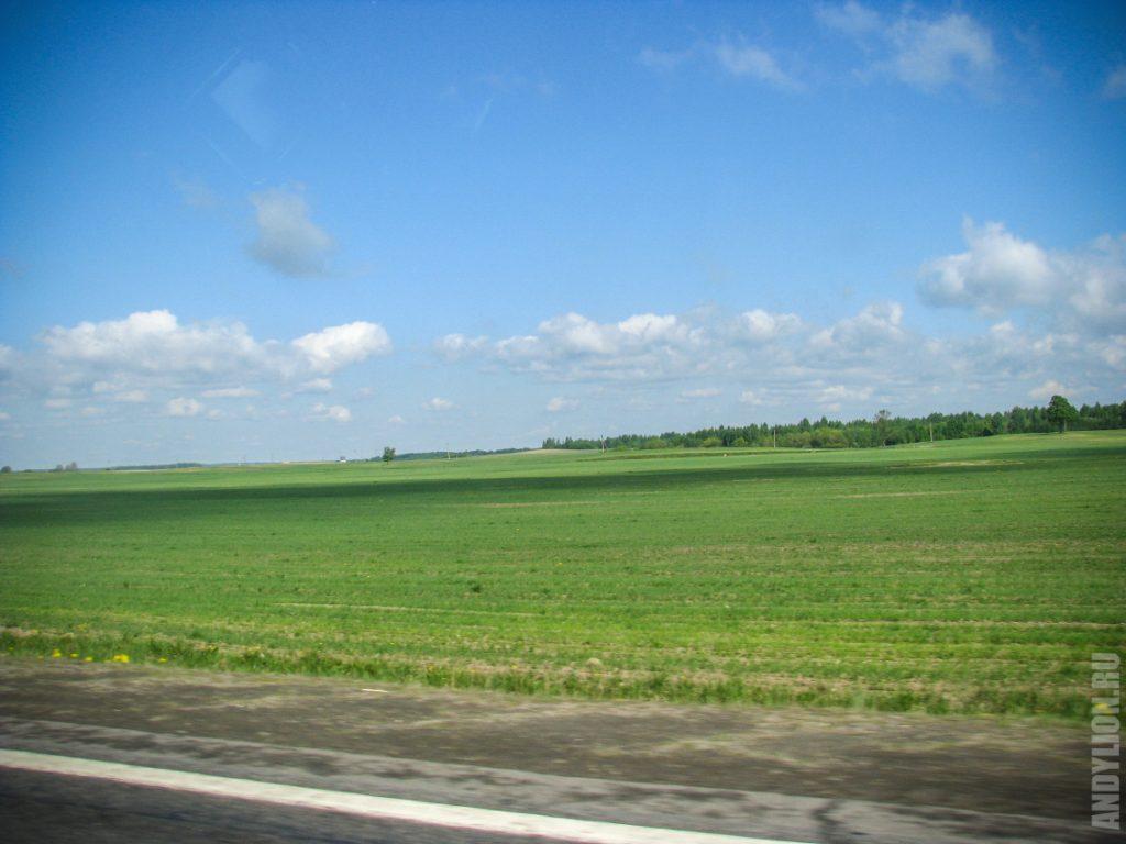 Белорусские просторы