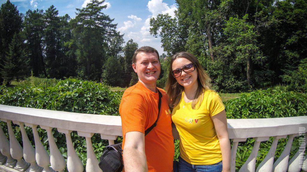 Селфи Андрея и Ани