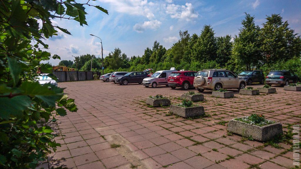 Бесплатная парковка у музея-заповедника Горки Ленинские