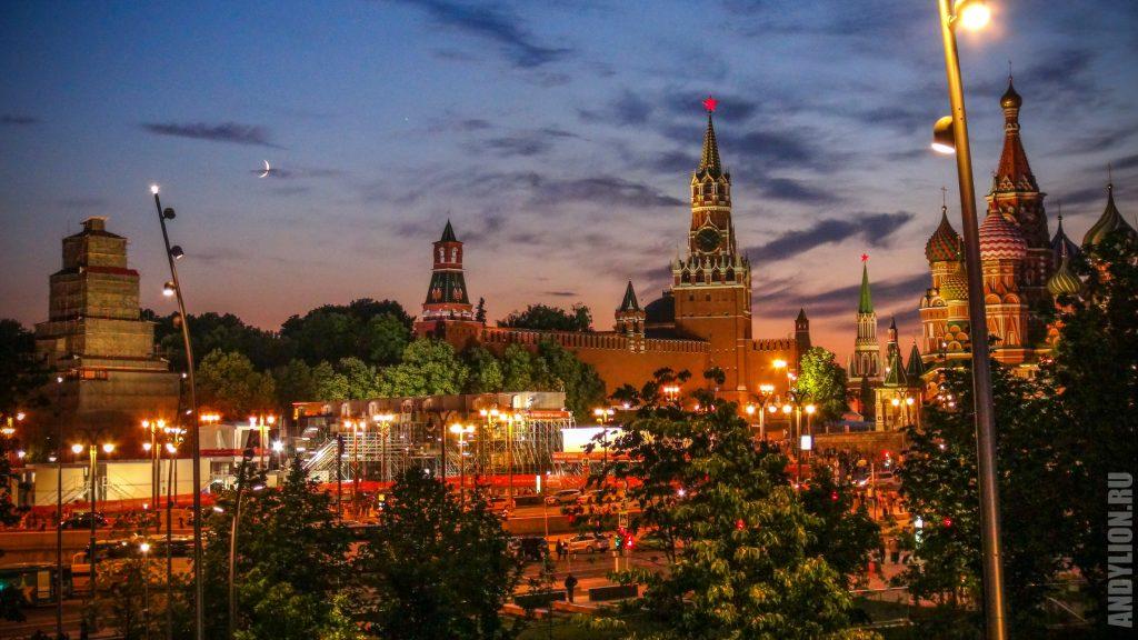 Кремль и храм Василия Блаженного