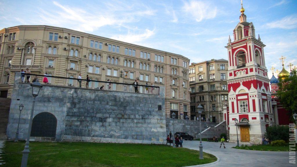 Центр Москвы. Зарядье.