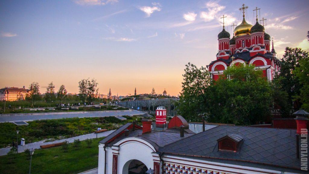 Москва. Зарядье.