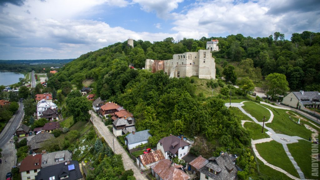 Развалины Королевского замка. Казимеж-Дольны.