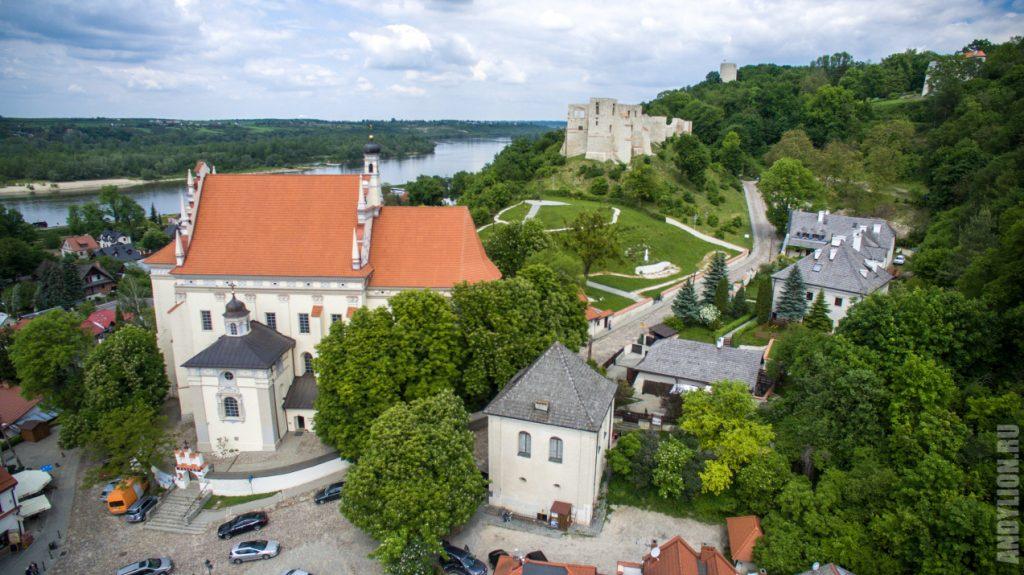 Костел, замок и башня