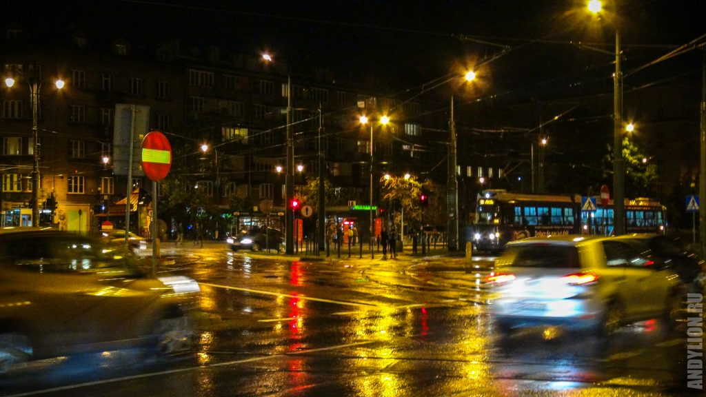 Краков. Пересечение улиц Starowislna и Jozefa Dietla