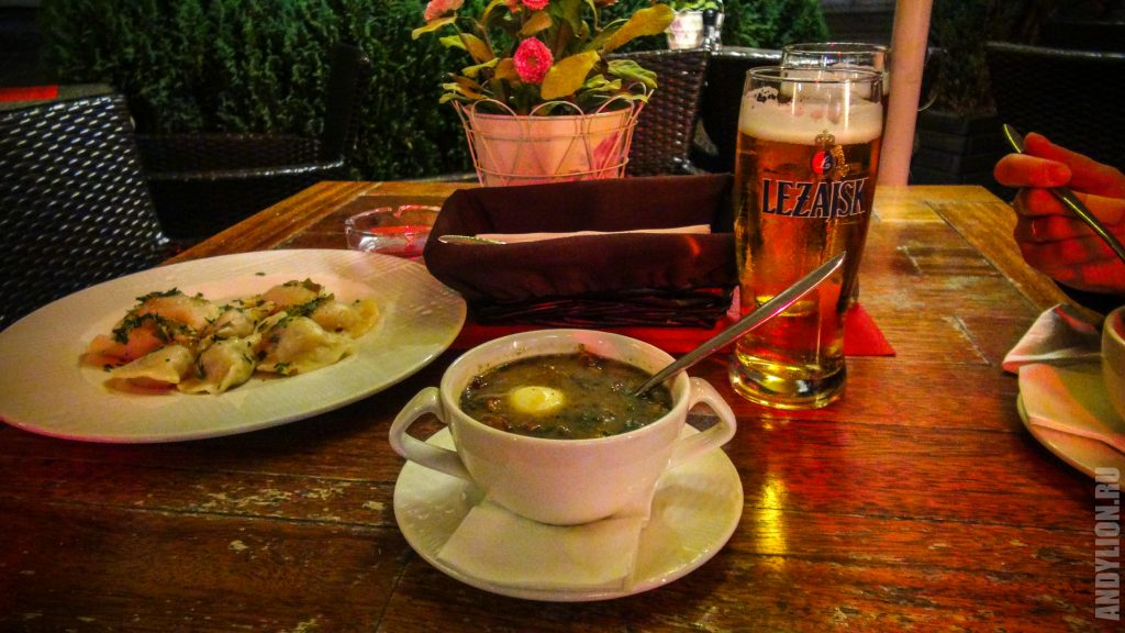 Ужин в ресторане Chopin