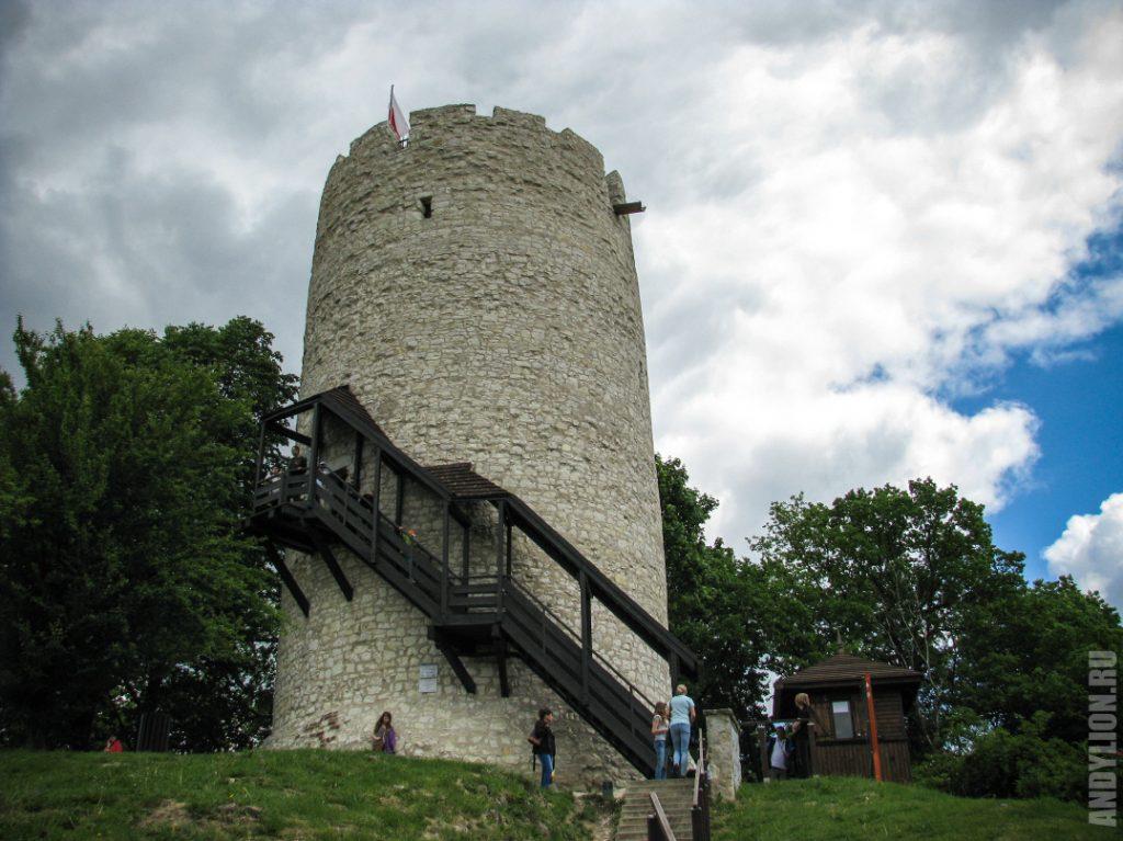 Казимеж-Дольны. Оборонительная башня.