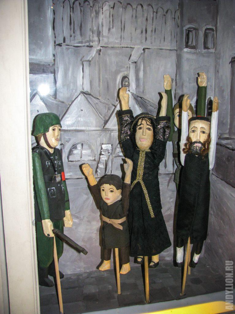 Куклы. Еврейское гетто в Кракове.