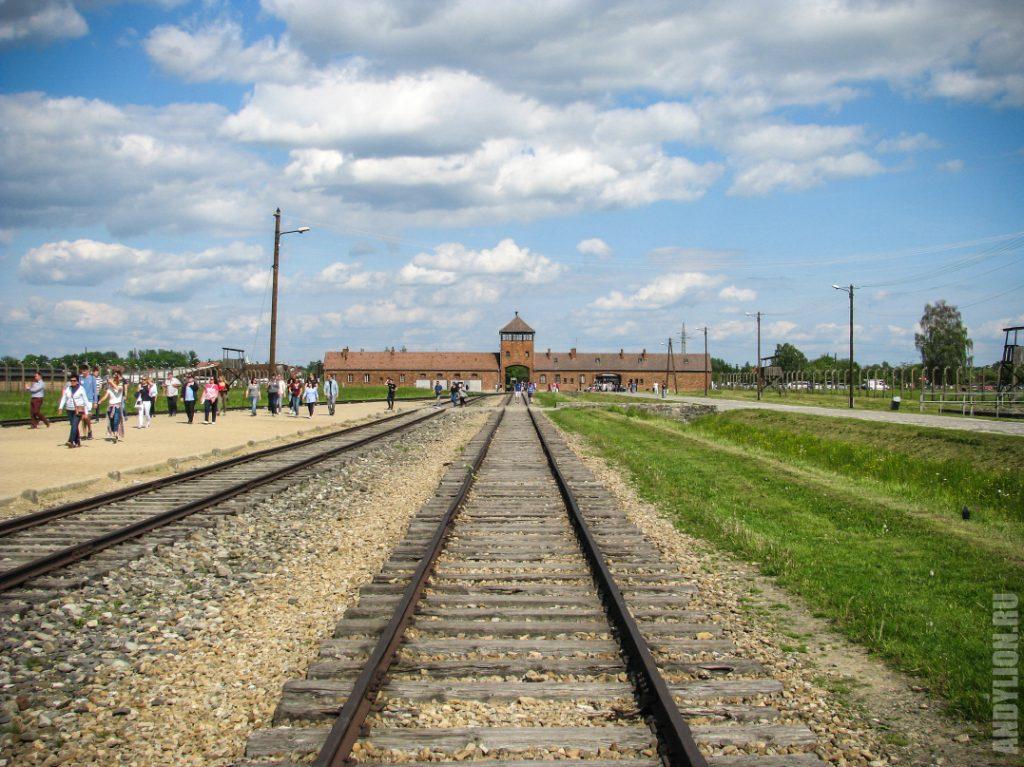 Концлагерь Биркенау. Освенцим.