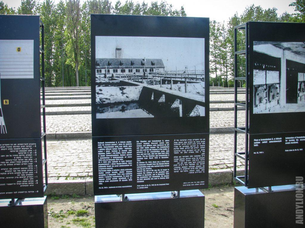Исторические фотографии газовых камер