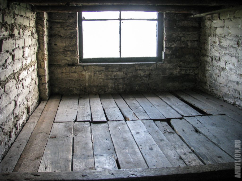 Здесь спали узники концлагеря