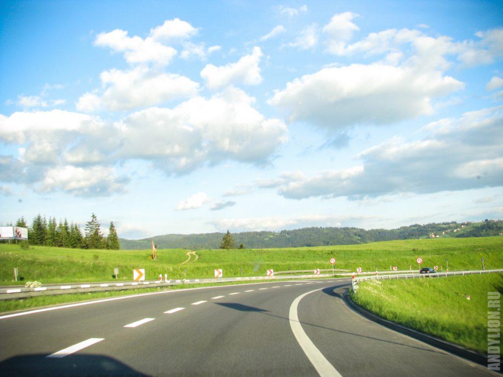 По дороге в Закопане