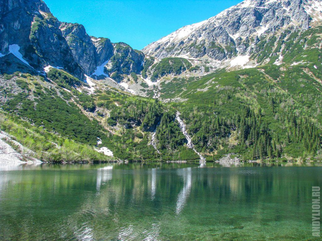Морское Око. Пейзажи вокруг озера.