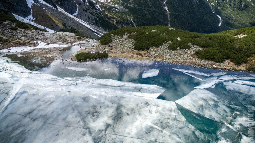 Черное Озеро. Вид с дрона.