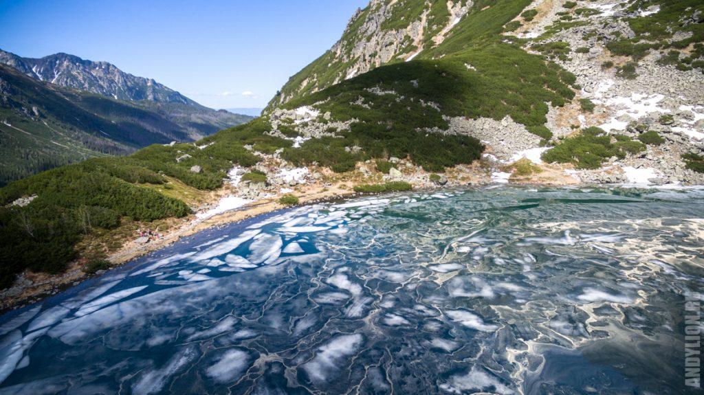 Черное Озеро. Морское Око. Татры.