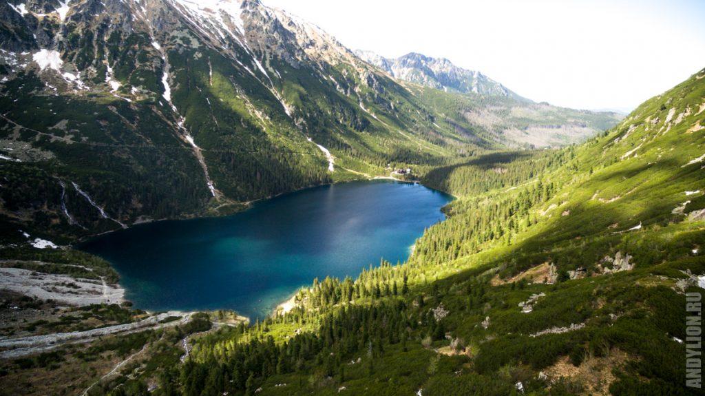 Озеро Морское Око