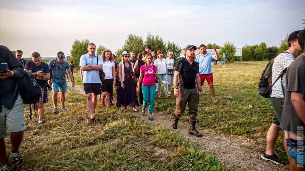 Экскурсия блогеров по экопарку Ясно Поле
