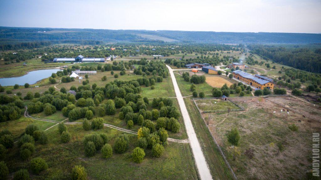Экопарк Ясно Поле. Панорама.