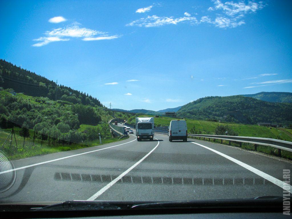 Дороги Словакии