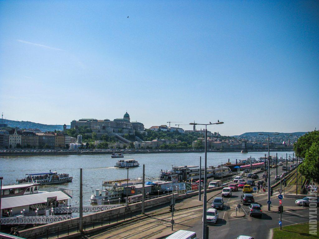 Дунай. Будапешт.