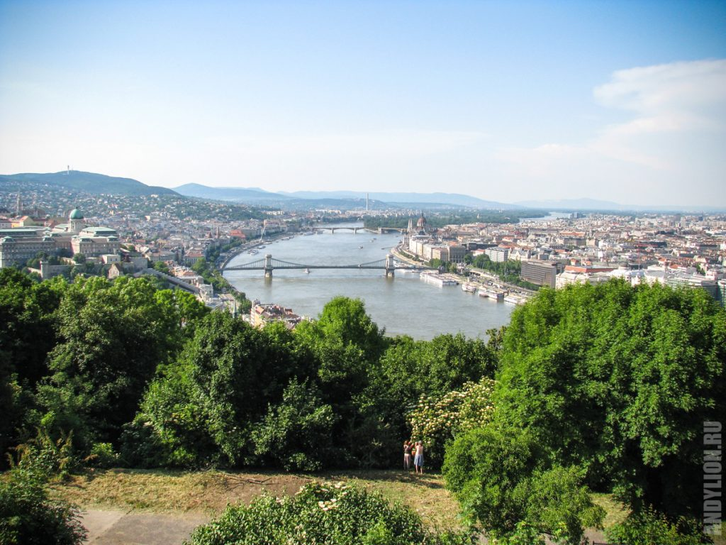 Будапешт с горы Геллерт