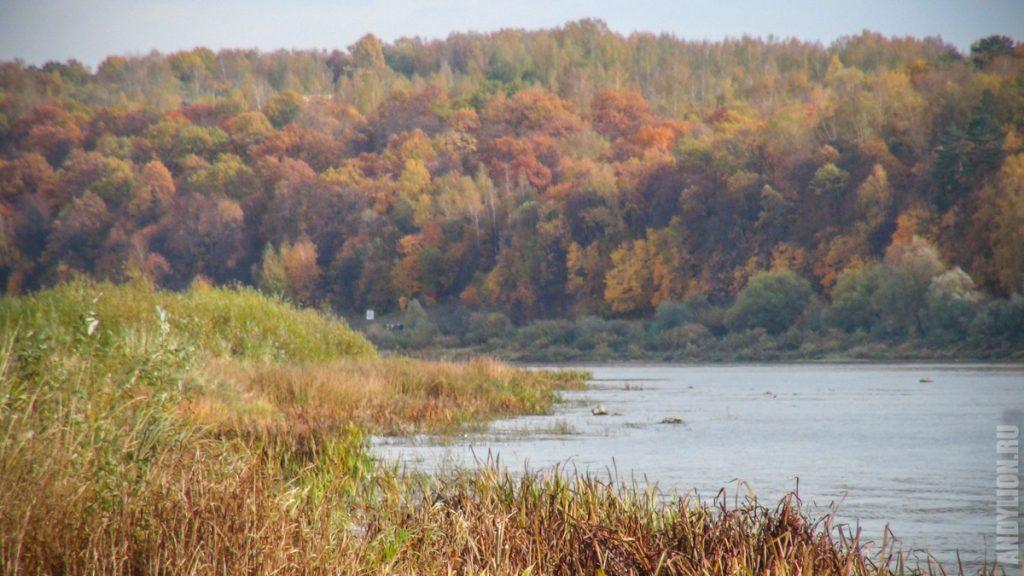 Ока. Осенние берега.