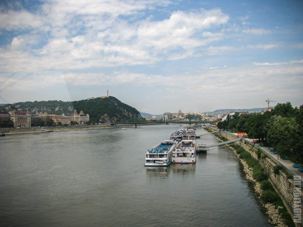Дунай в Будапеште