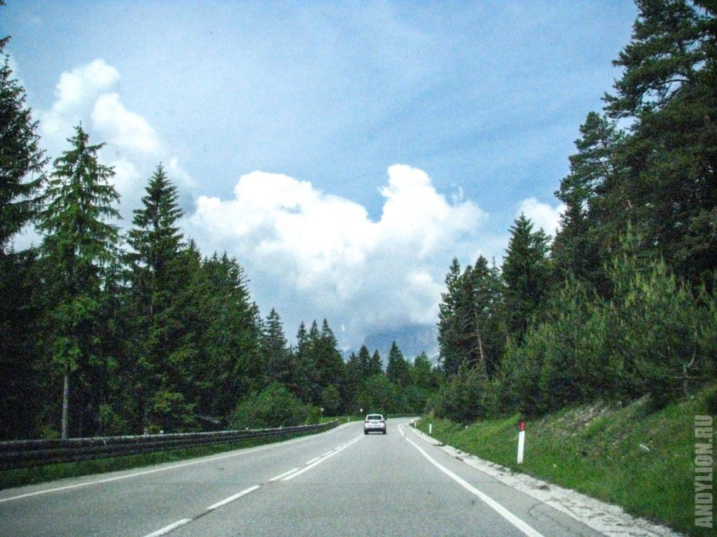 По дороге в Кортина-д'Ампеццо