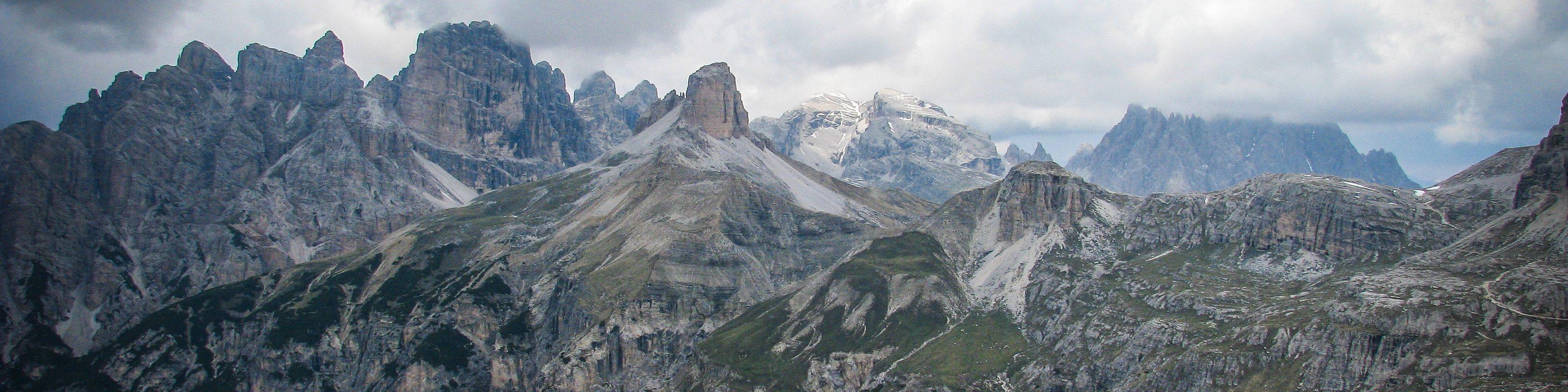 Евротур #3. Ч.9. Доломитовые Альпы. Тре Чиме ди Лаваредо.