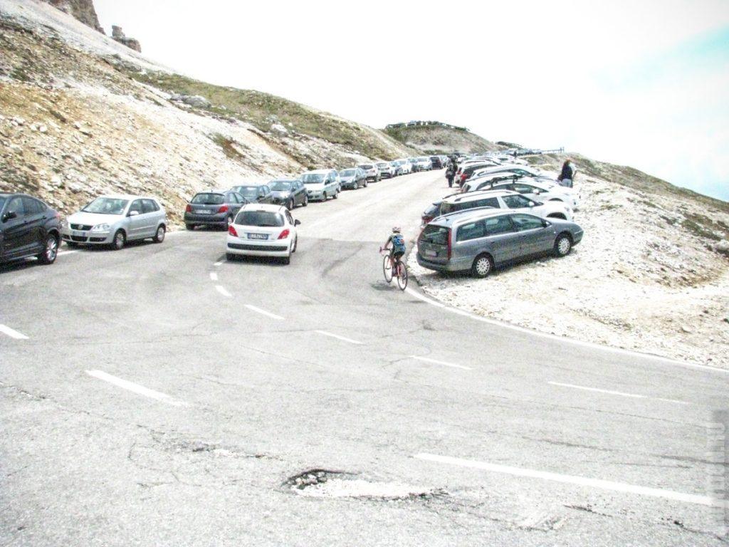 Парковка на Тре Чиме