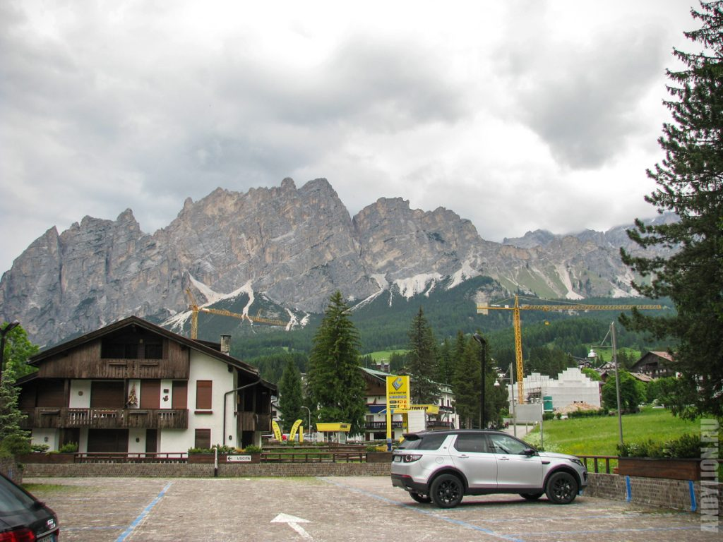 Parcheggio multipiano Pontechiesa. Кортина-д'Ампеццо