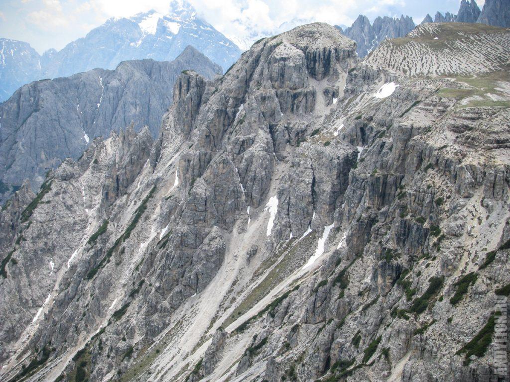 Доломитовые скалы