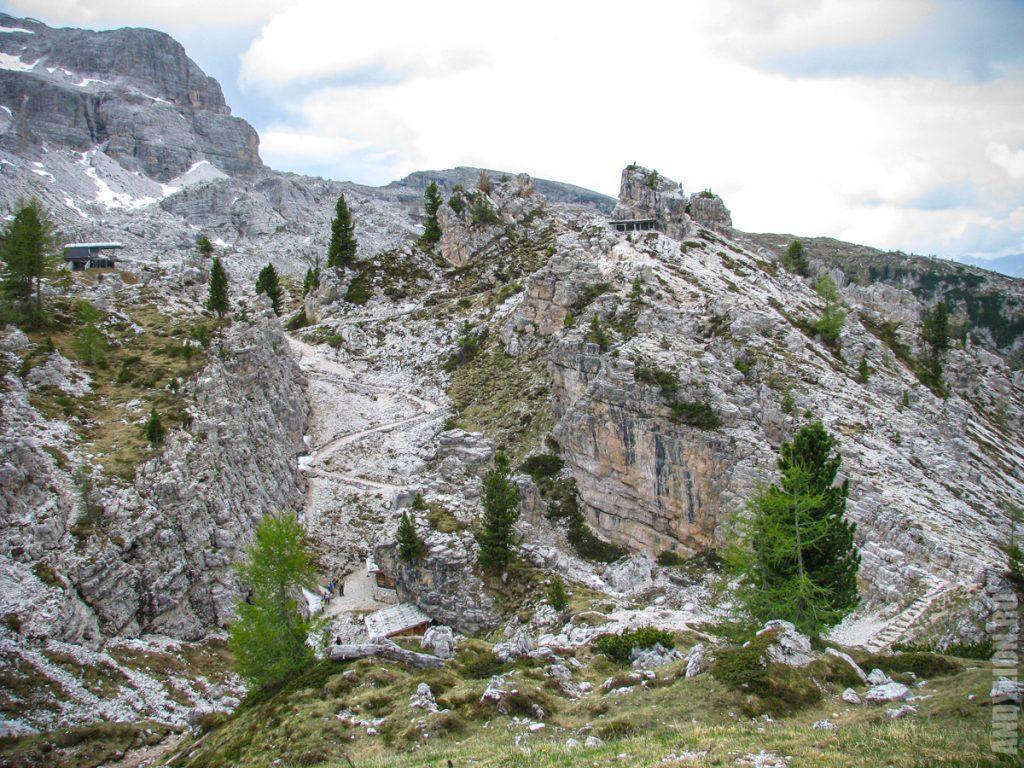 Музей Первой мировой войны в Доломитовых Альпах