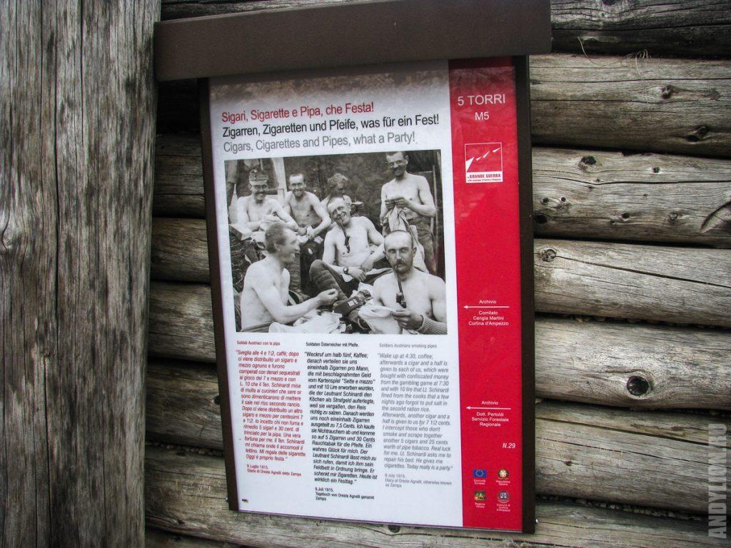 Музей Первой мировой войны. Чинкве Торри.