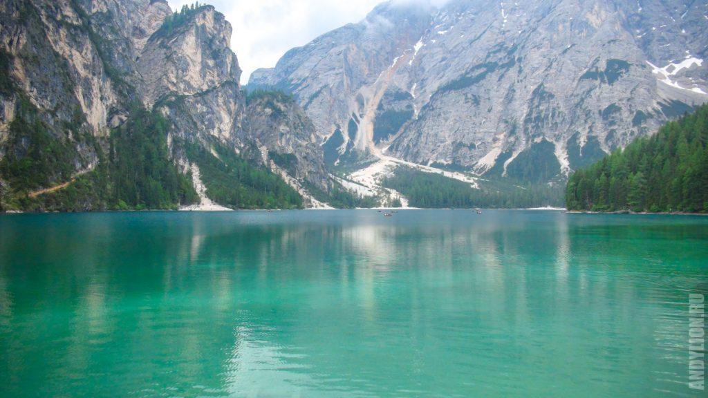 Бирюзовое озеро Брайес