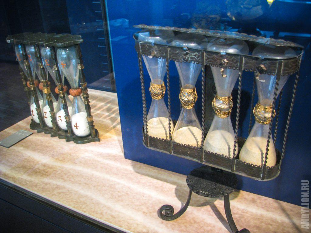 Мюнхен. Немецкий музей. Песочные часы.
