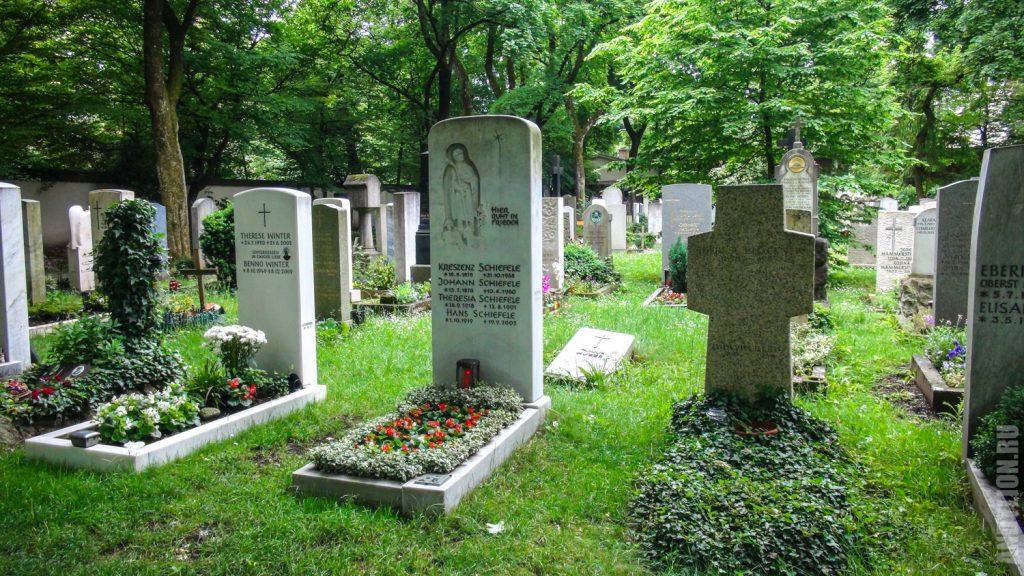 Кладбище Ostfriedhof в Мюнхене