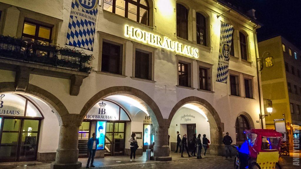 Фасад Hofbrauhaus