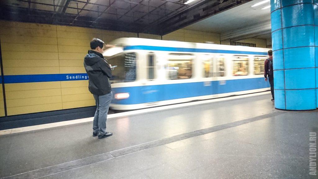 Станция Sendlinger Tor