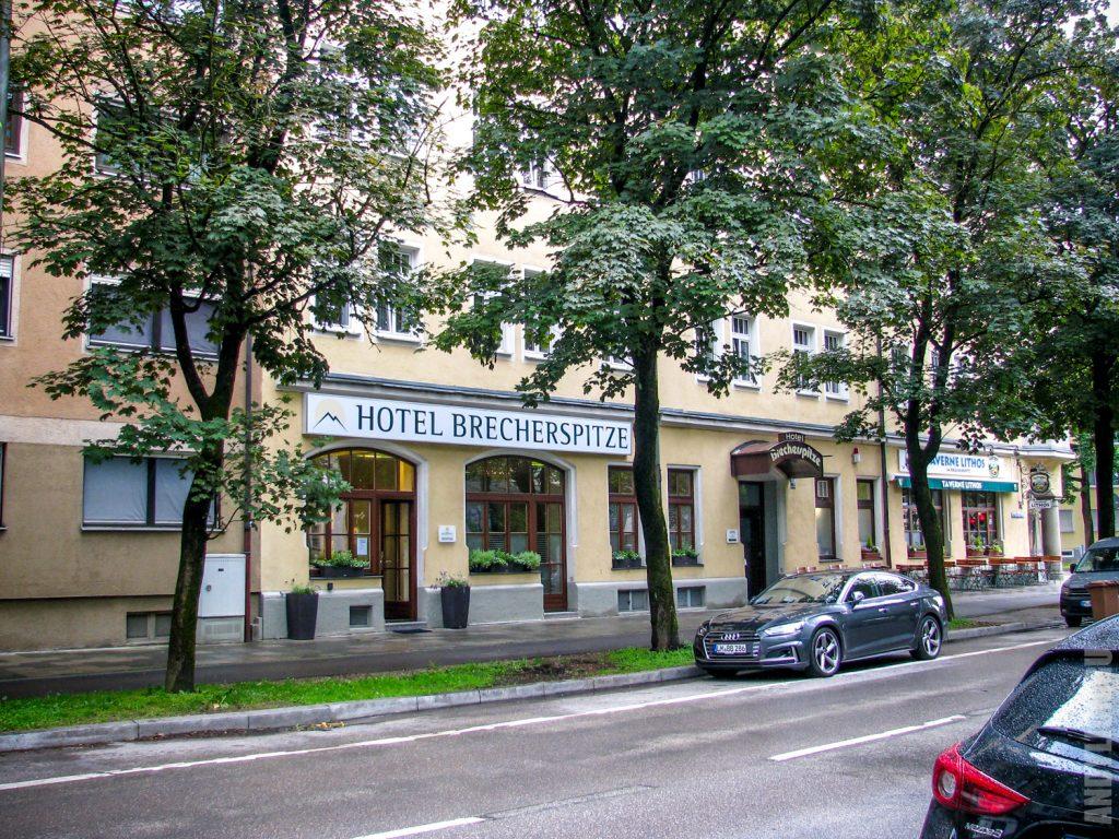 Hotel Brecherspitze с улицы