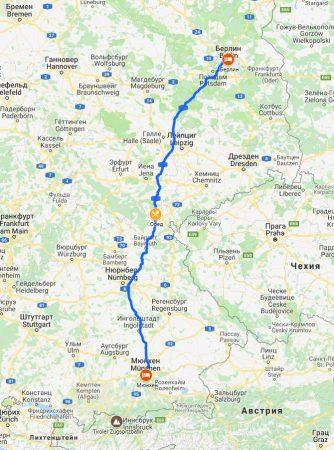 Евротур #3. В Европу на машине. Мюнхен-Берлин.