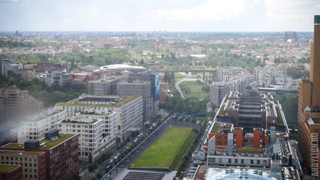 Берлин с высоты Panorama Punkt
