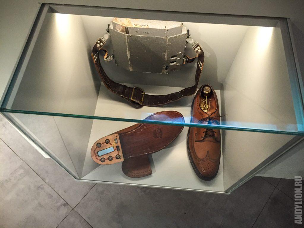 Шпионский ботинок