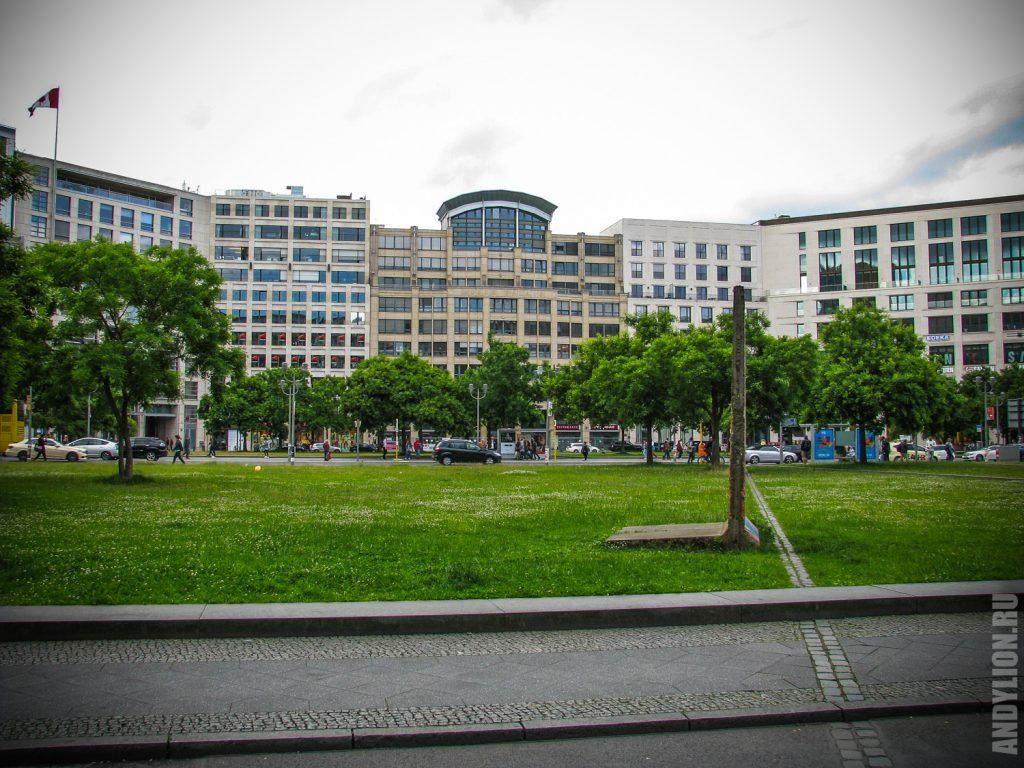 Лейпцигская площадь в Берлине