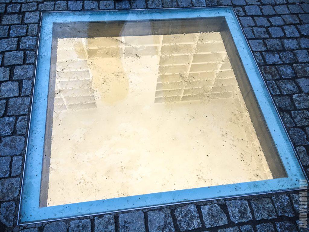Бебельплац. Место сожжения книг в 1933 году.