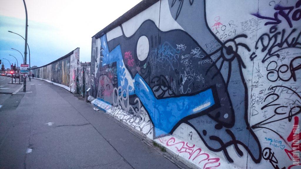 Берлинская стена. East Side Gallery.