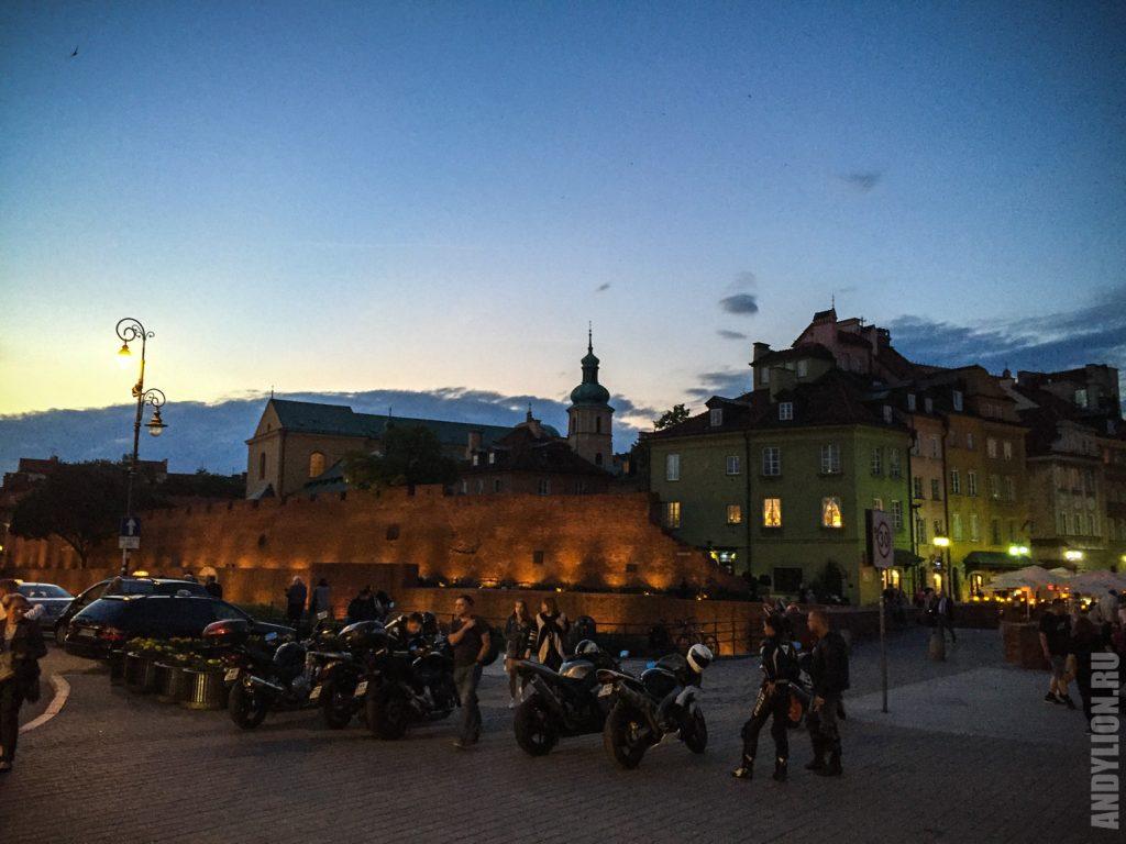 На Замковой Площади. Варшава.