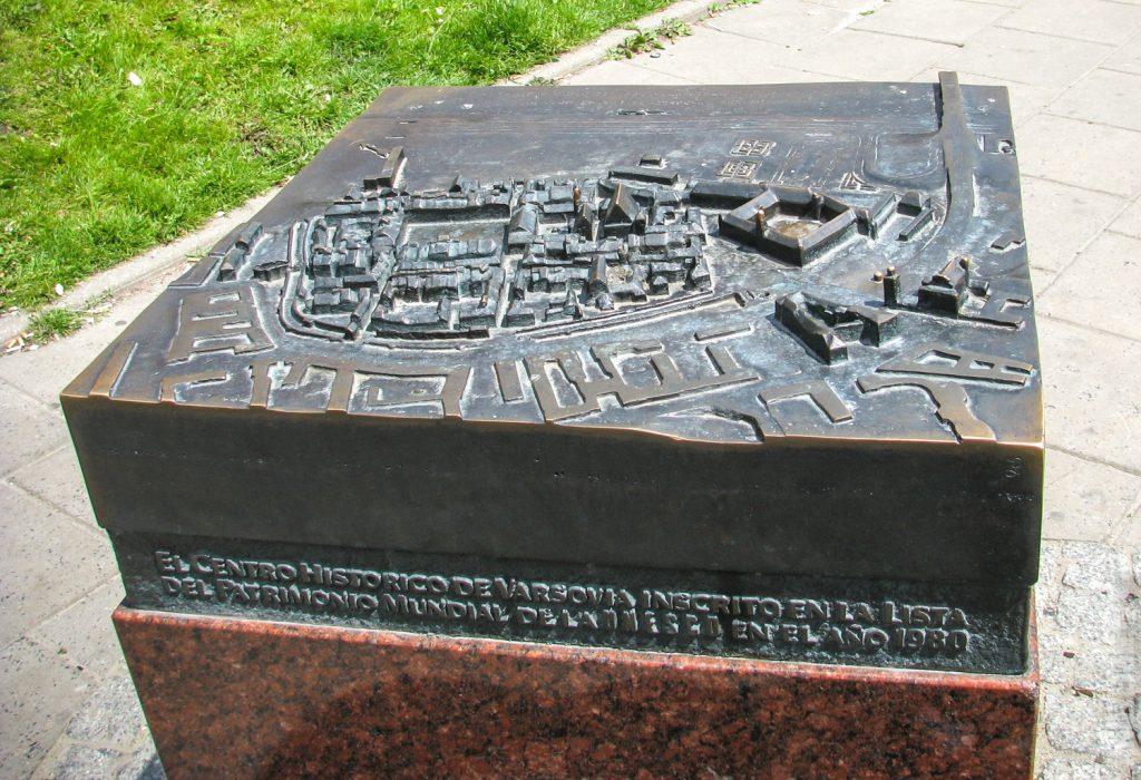 Макет Старого Город