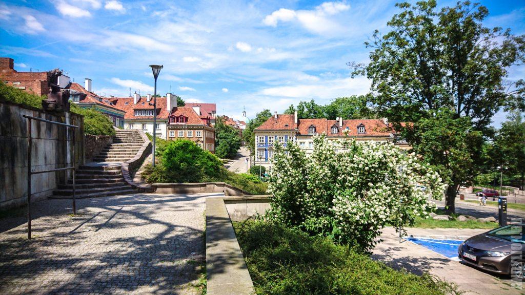 Улочки Старого Города в Варшаве